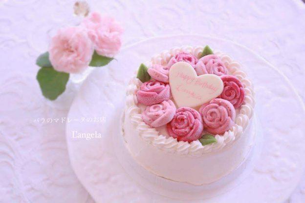 郵送用の冷凍生ケーキ「ジュエルローズ」人気です。