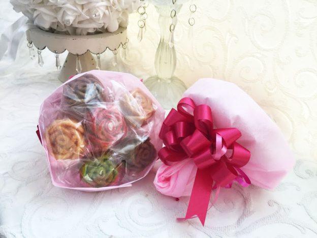 ♥入園・入学・新生活の御祝いにも美しいベルレーヌの花束を。
