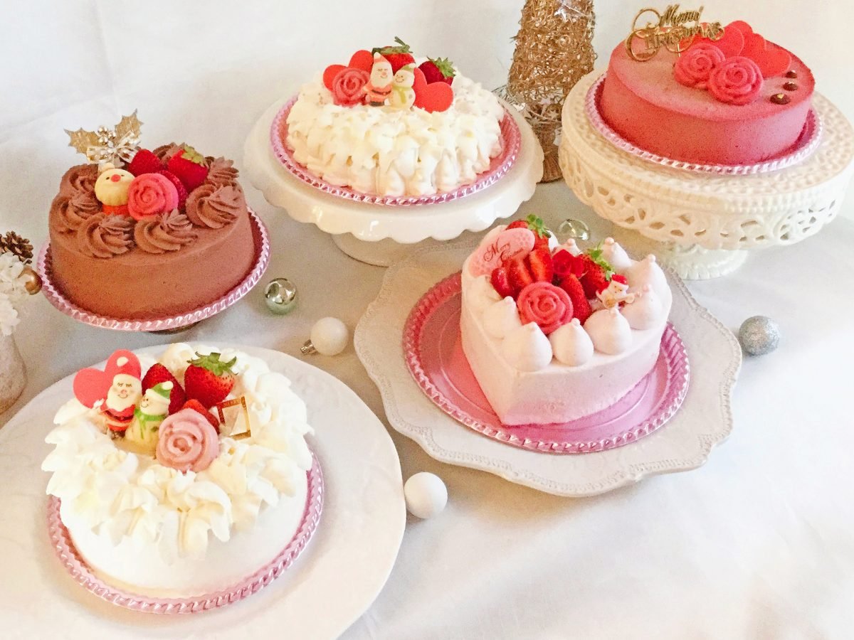 クリスマスケーキご予約承り中